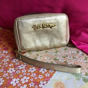 Metallic Gold - Lilly Pulitzer Wallet